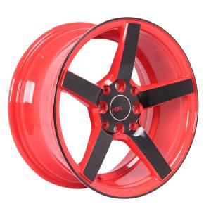 HSR NE3 JD265 Ring 16x7 H8x100-114,3 ET30 Red Rim + Black Face3
