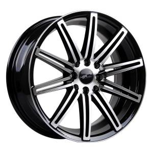 HSR Ne4 10553 Ring 17x7,5 H8x100-114,3 ET40 Black Machine Face3
