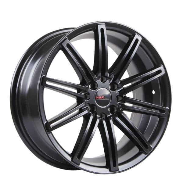 HSR Ne4 10553 Ring 17x7,5 H8x100-114,3 ET40 Semi Matte Black4