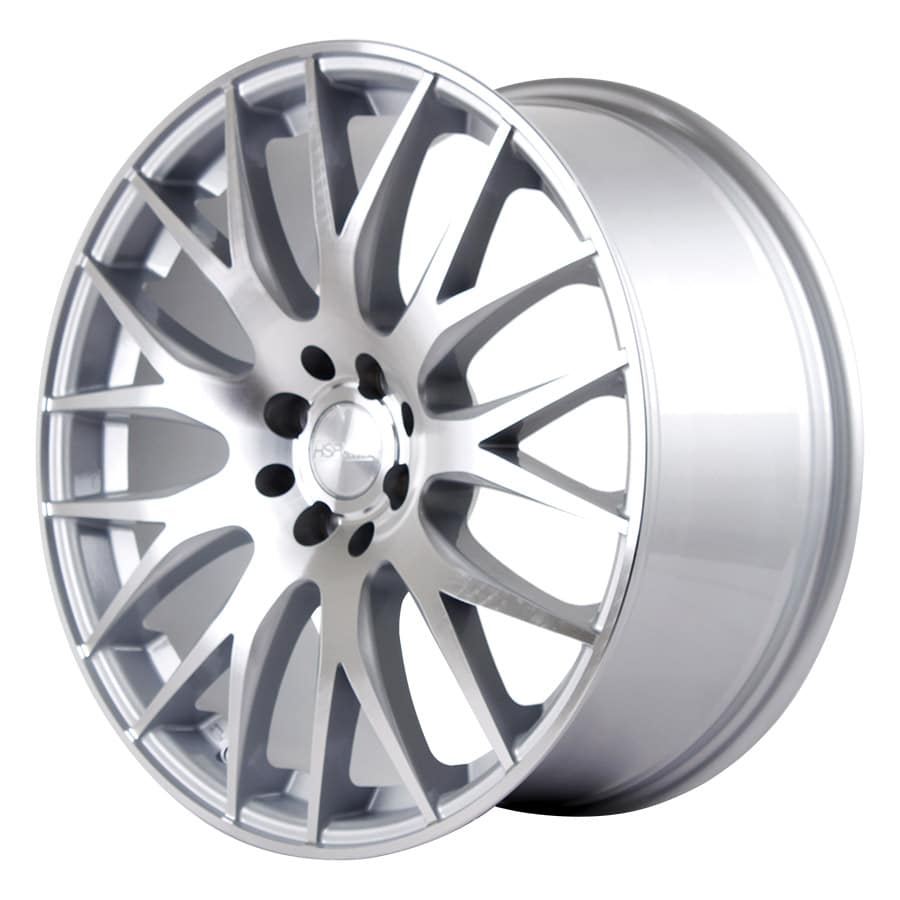 HSR Nifty JD123 Ring 18x8 H8x100-114,3 ET45 Silver Machine Face1