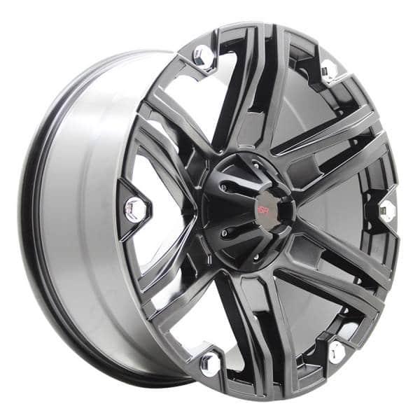 HSR Outlaw JT922 Ring 20x9 H6x139,7 ET20 Semi Matte Black Chrome Rivets4