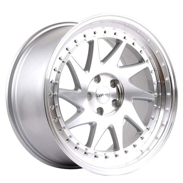 HSR Ozora 707 Ring 19 8,5-9,5 H5x112 ET35 Silver Machine Face3