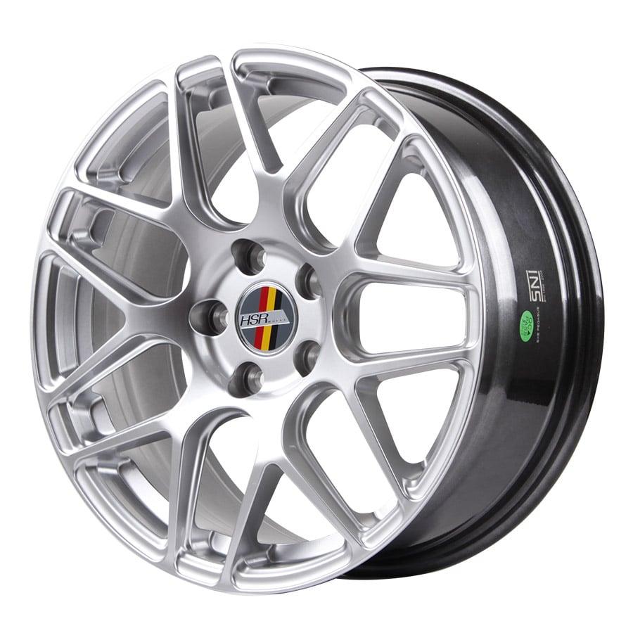 HSR P40 11943 HSR Ring 17x7,5 H5x112 ET42 Hyper Silver1