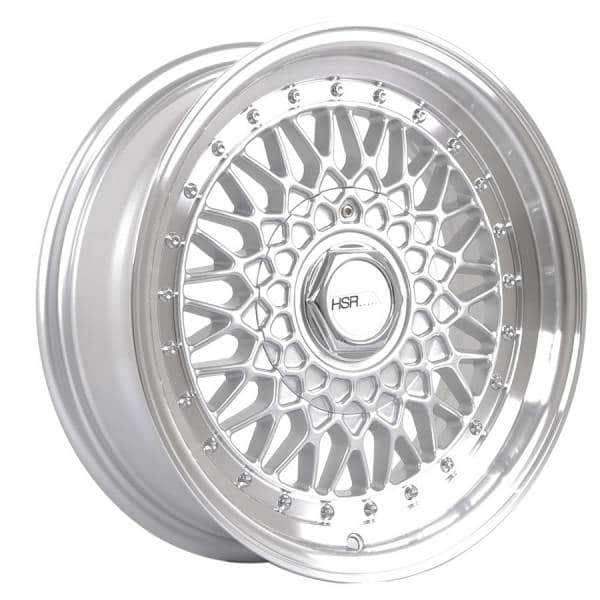 HSR RS 1138 Ring 15x7-8 H8x100-114,3 ET30-25 Silver Machine Lip