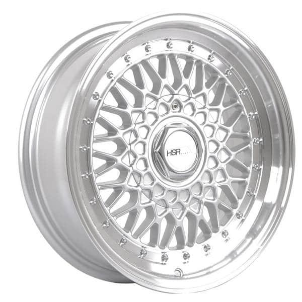 HSR RS 1138 Ring 15x7-8 H8x100-114,3 ET30-25 Silver Machine Lip