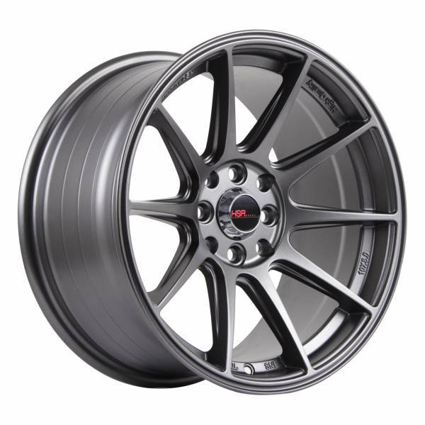 HSR Shinjuku 1073 Ring 16x8 H8x100-1143 ET25 Semi-Matte Grey