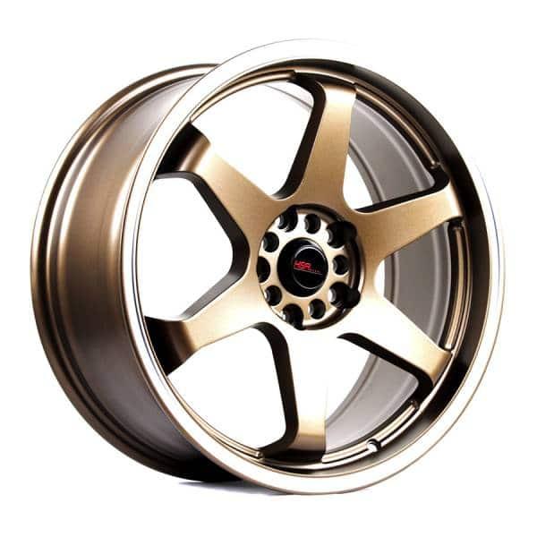 HSR Tokyo 966 Ring 18x8 H10x100 114 ET40 Semi Matte Bronze Machine-Ring