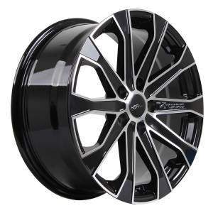 HSR Verezzo 10689 Ring 17x7,5 H5x114,3 ET40-Black Machine Face