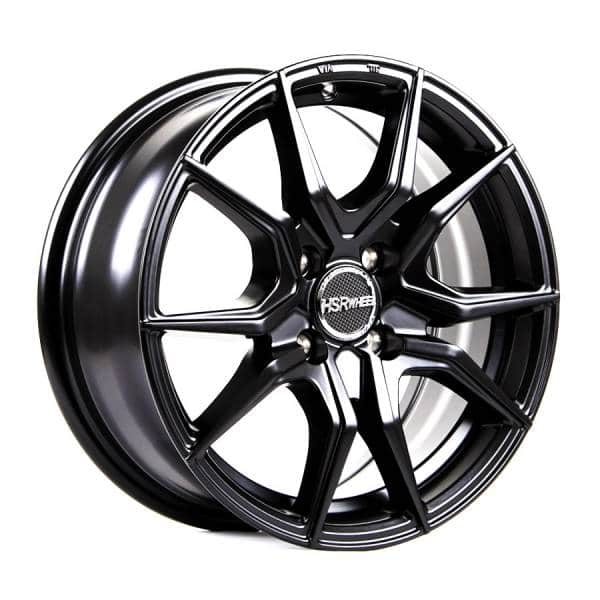 HSR Vital JD5270 Ring 15x65 H4x100 ET38 Semi Matte Black