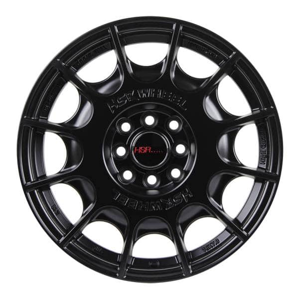 HSR WRC 1075 Ring 16x7 H8x100 1143 ET45 Semi Matte Black (1)