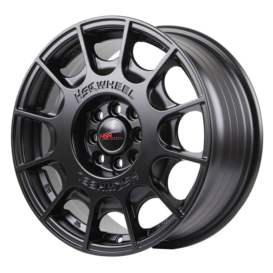 HSR WRC 1075 Ring 16x7 H8x100 1143 ET45 Semi Matte Black (2)