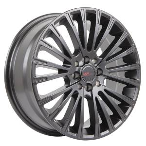HSR Web JD801 Ring 17x7 H8x100-114,3 ET45 Semi Matte Black