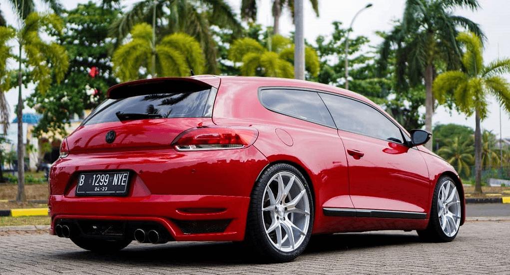 Modifikasi Velg Mobil