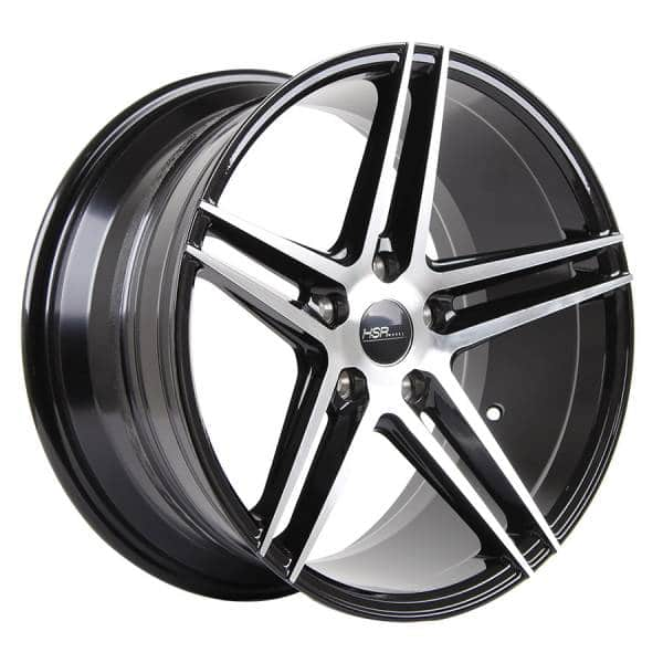 HSR Adventure 50243 RING 18x8-9 H5x114,3 ET40 Black machine face (3)