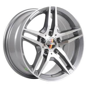 HSR Berlin AM197 Ring 16x7,5 H5x112 ET35 Grey Machine Face3