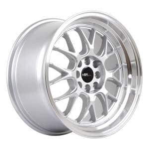 HSR Branch L1440 Ring 17x8-9 H8x100-114,3 ET35-30 Silver Machine Lip4