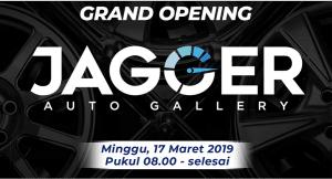 Grand Opening Jagger Auto Gallery - TKB Jambi