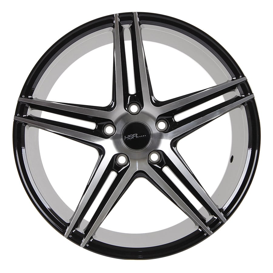 HSR Adventure 50243 RING 18x8-9 H5x114,3 ET40 Black machine face (1)
