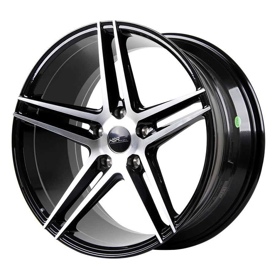 HSR Adventure 50243 RING 18x8-9 H5x114,3 ET40 Black machine face (2)