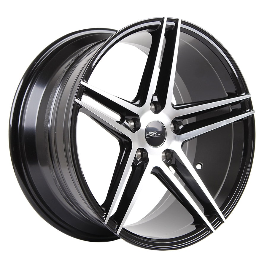 HSR Adventure 50243 RING 18x8-9 H5x114,3 ET40 Black machine face