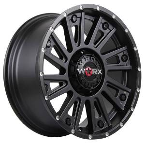 HSR Barroth H1404 Ring 20x9 H10x114,3-127 ET18 Semi Matte Black