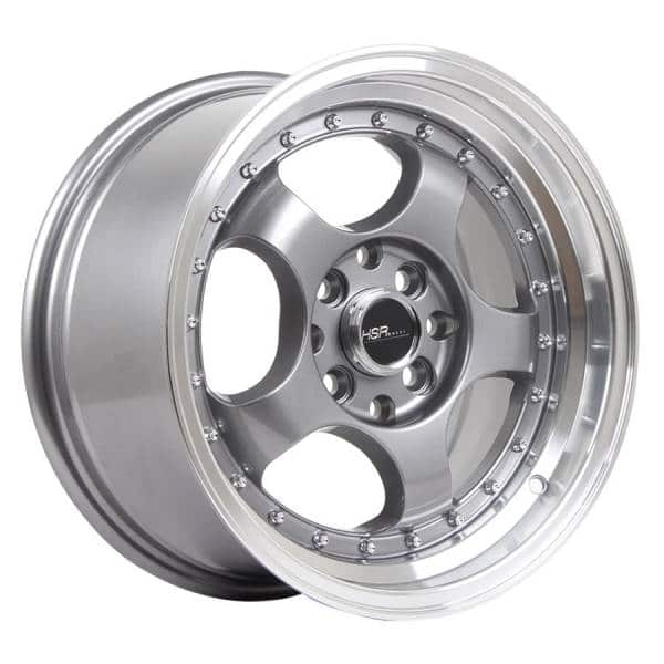 HSR Brisket 55443 Ring 15x7,5-8,5 H8x100-114,3 ET35-25 Grey Machine Lip (2)
