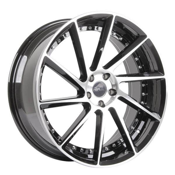 HSR Ciao 10533 Ring 22x9 H5x114,3 ET35 Black Machine Face