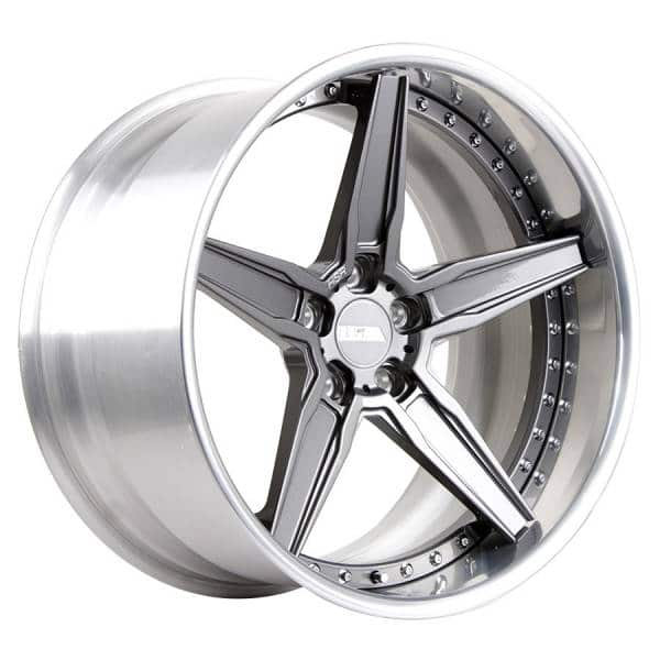 HSR FG 02 18 Ring 20x10-11 H5x120 ET5-10 Gun Metal-Machine