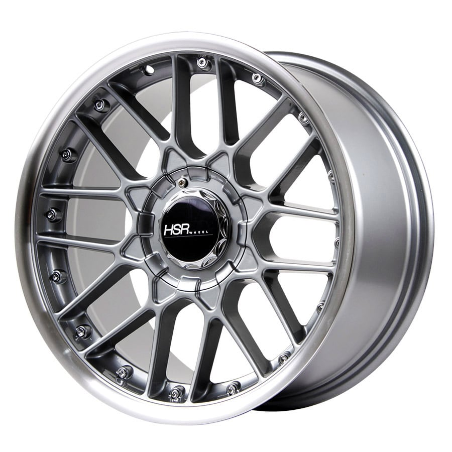 HSR Formula L1879 Ring 17x7,5-8,5 H8x100-114,3 ET30 Grey Machine Lips1
