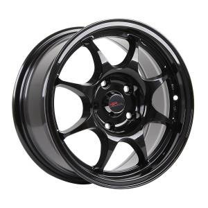 HSR Keerom 83013 RING 16x7 H5x114,3 ET35-Black