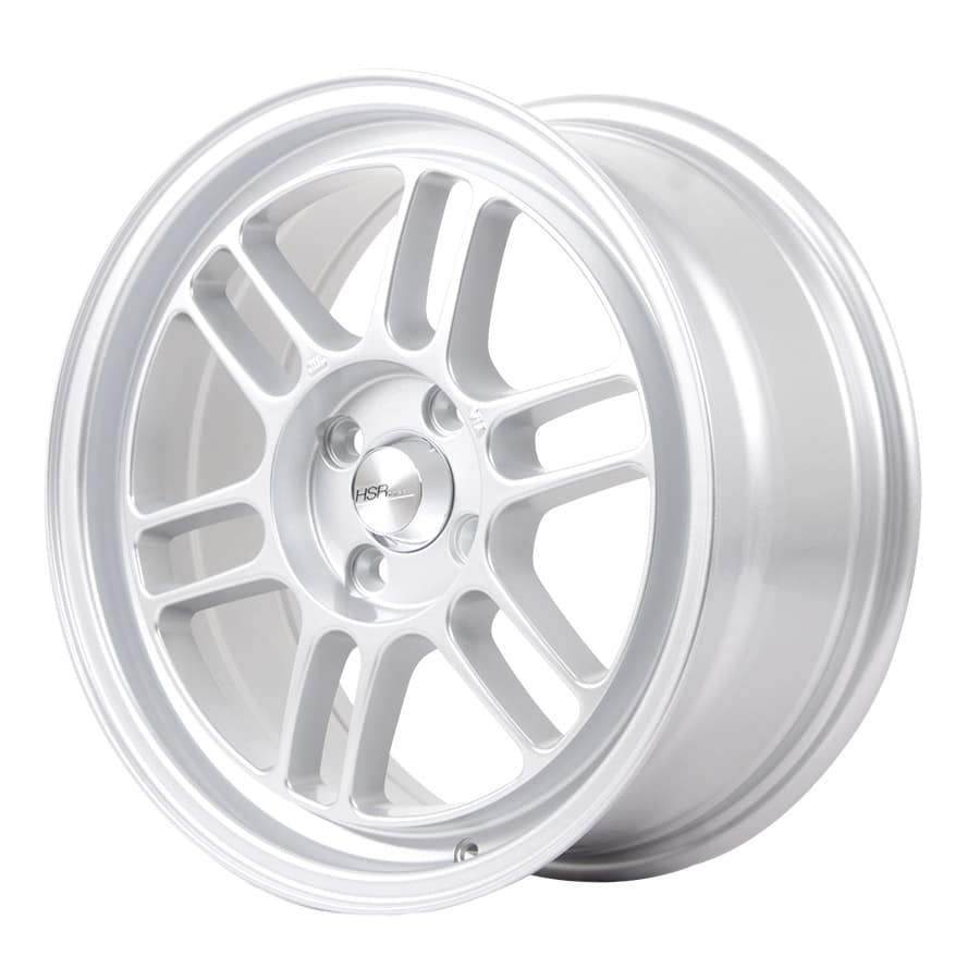 HSR Kumamoto 60423 Ring 16x7 H4x100 ET40 Brilliant Silver (2)