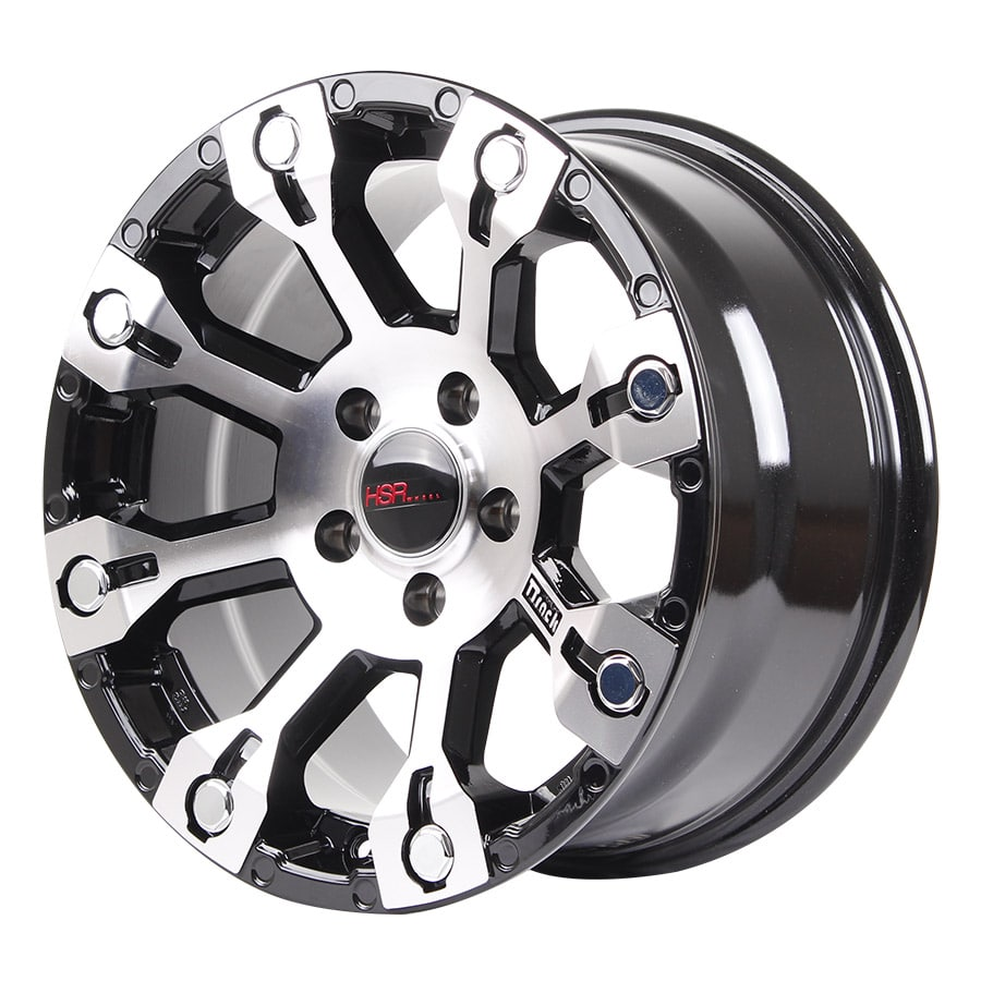 HSR Mangrove H916 Ring 16x8 H5x114,3 ET20 Black Machine Face (2)