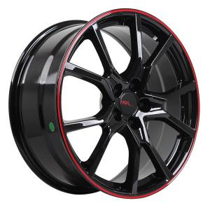 HSR Misato 10613 Ring 20x8,5 H5x114,3 ET42 Black Red