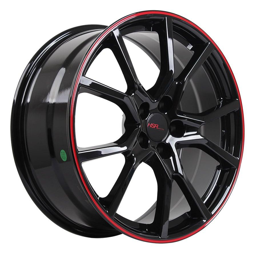 HSR Misato 10613 Ring 20x8,5 H5x114,3 ET42 Black Red