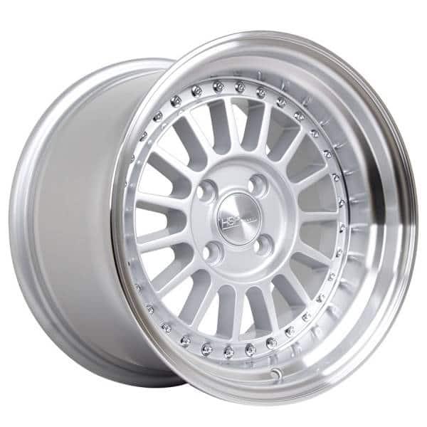 HSR Namlea JD216 Ring 15x8-9 H4x100 ET30-25 Silver Machine Lip