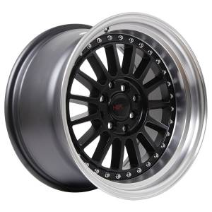 HSR Namlea JD216 Ring 16x8-9 H8x100-114,3 ET30-25 Semi Matte Black Machine Lip