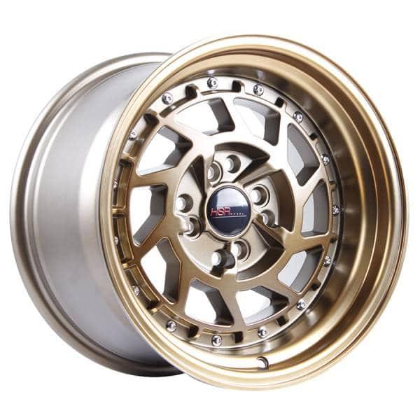 HSR Namrole JD217 Ring 15x8-9 H8x100-114,3 ET30-25 Bronze with Bronze Lip