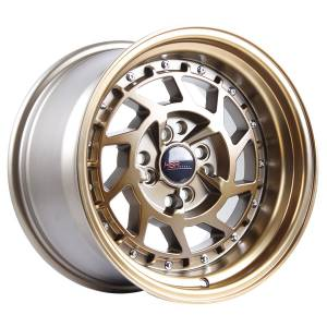 HSR Namrole JD217 Ring 16x8-9 H8x100-114,3 ET30-25 Bronze with Bronze Lip