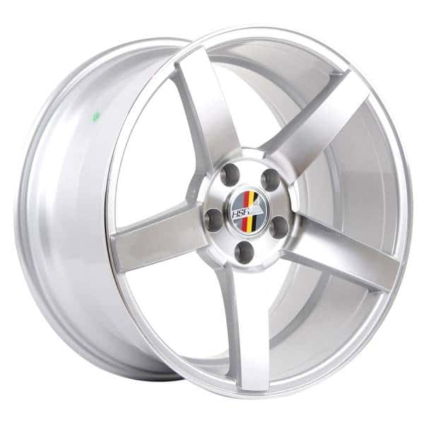HSR Ne3 50783 Ring 18x8-9 H5x112 Et40 35 Silver Machine Face