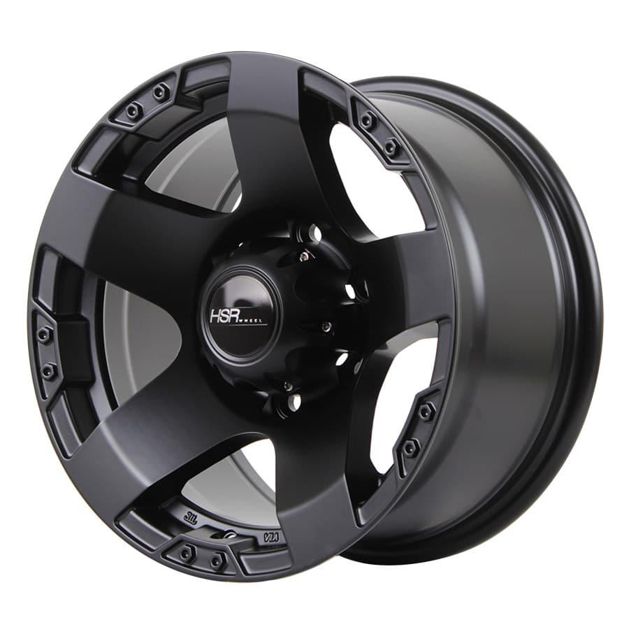 HSR Rasta JT5295 Ring 15x8 H6x139,7 ET0 Semi Matte Black (2)