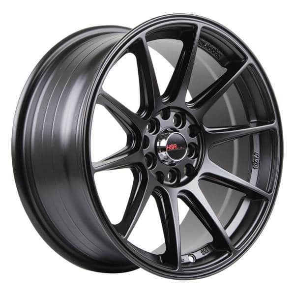 HSR Shinjuku 1073 Ring 15x7 H10x100-114,3 ET25 Semi Matte Black