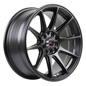 HSR Shinjuku 1073 Ring 16x7 H10x100-114,3 ET25 Semi Matte Black