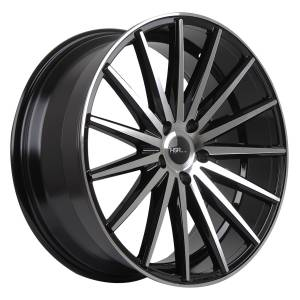 HSR Tsukuba L560 Ring 20x8,5 H5x114,3 ET40-Black Machine Face