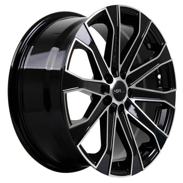 HSR Verezzo 10689 Ring 17x7,5 H10x100-114,3 ET40 Black Machine Face (2)