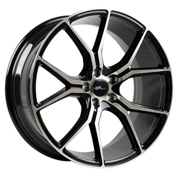 HSR Voodoo 59783 Ring 18x8-9 H5x114,3 ET40 Black Machine Face