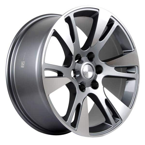 HSR Winchester L1645 Ring 20x9 H6x139,7 ET20 Grey Machine Face