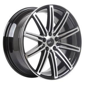 HSR Ne4 10553 HSR Ring 17x7,5 H10x100-114,3 ET40 Black Machine Face