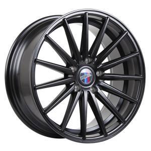 HSR Gracious 890 Ring 18x8-9 H5x120 ET40-35 Semi Matte Black