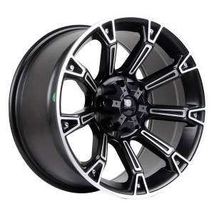 HSR Kaimana 865 Ring 17x9 H6x139,7 ET15 Semi Matte Black Machine Face