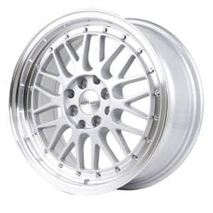 HSR Lemans 306 Ring 16x7 H8x100-114,3 ET38 Silver Machine Lip (2)